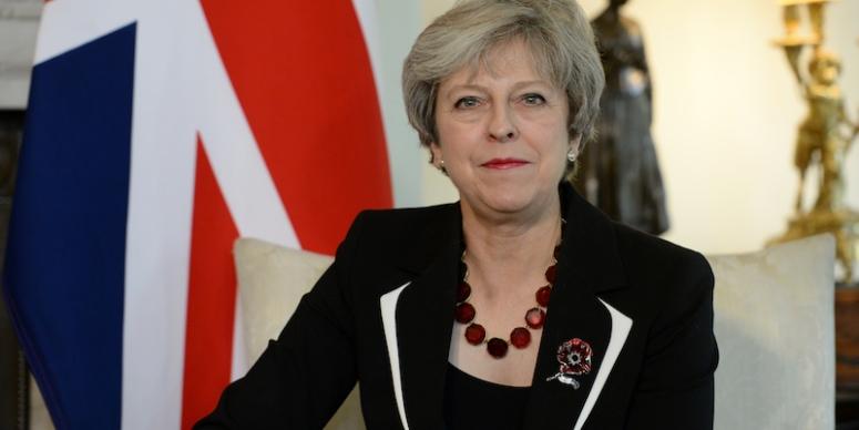 Theresa May Meets With Prime Minister Of Israel Benjamin Netanyahu